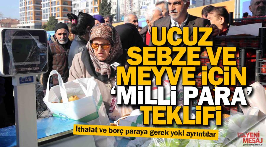 291547cf794d1 Yeni Mesaj; Murat Çabas: Milli Para olsaydı sebze-meyve pahalı olmazdı