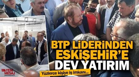 Prof. Dr. Haydar Baş'tan Eskişehir'e dev yatırım
